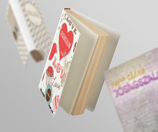 Jóságszalon – Book Cover Design